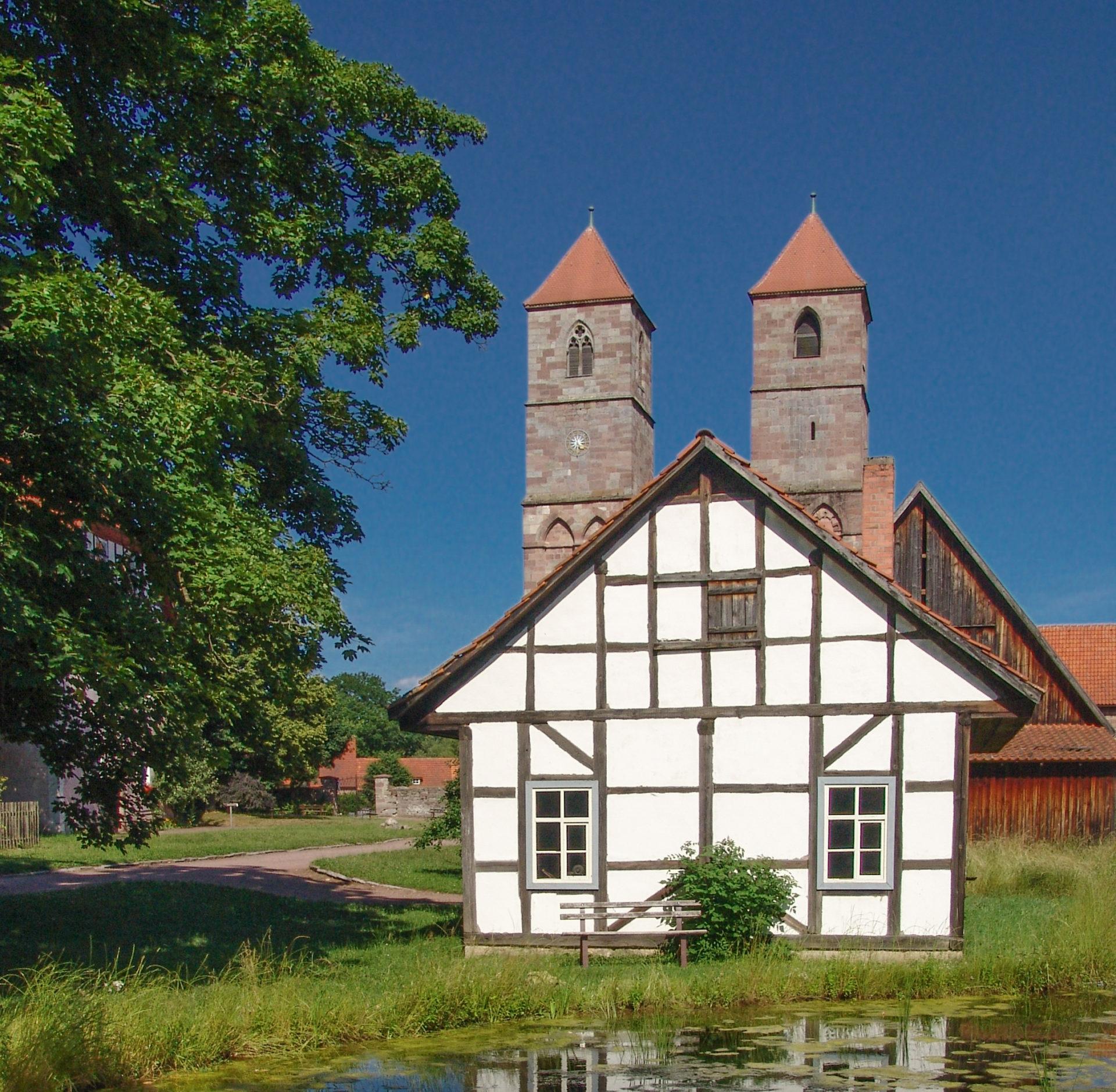 Klosteranlage Veßra, Schmiede,