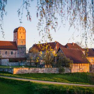 Basilika Breitungen, Ansicht vom Hühn