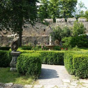 Burggarten Burg Creuzburg