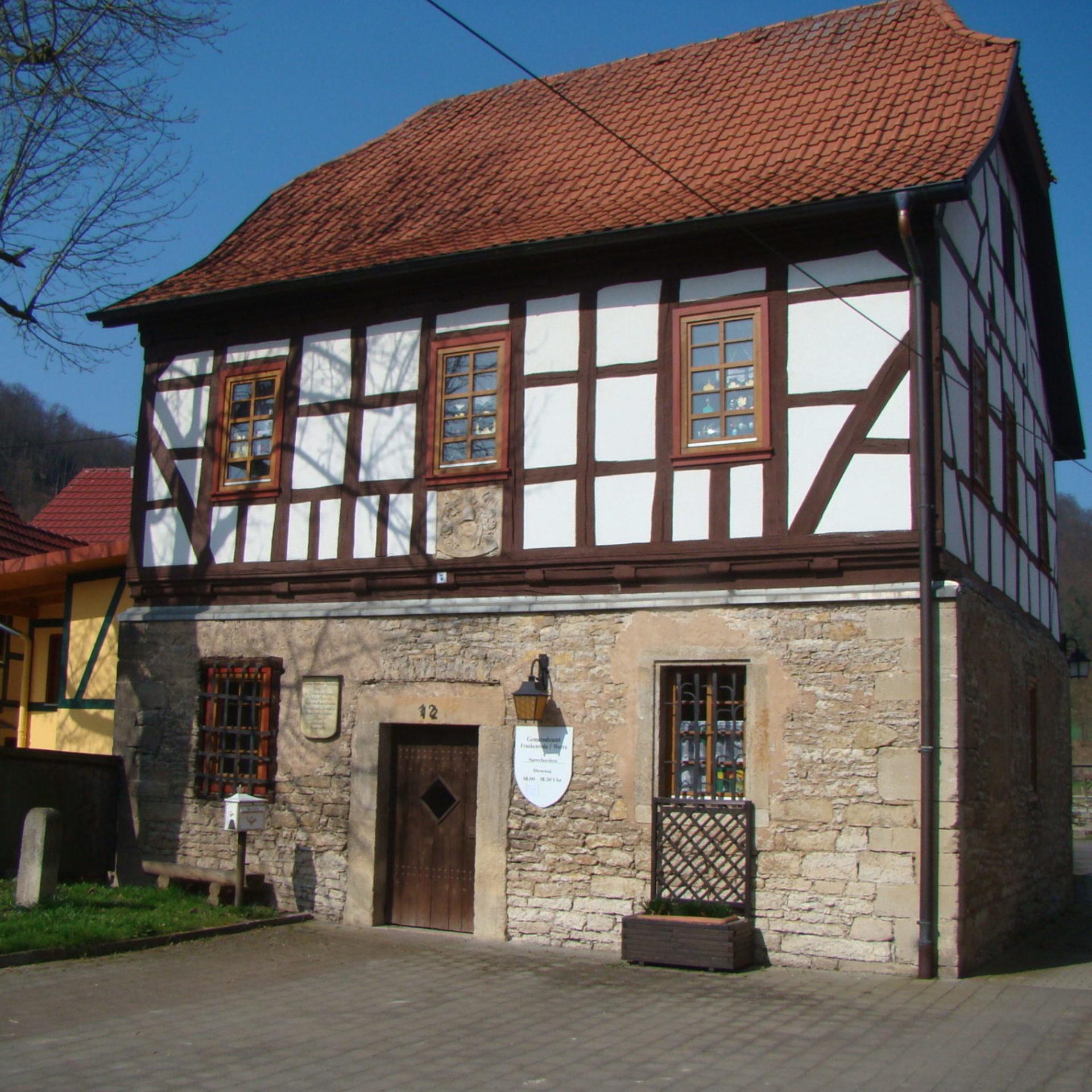 Das alte Gerichtshaus Frankenroda © E. Lämmerhirt