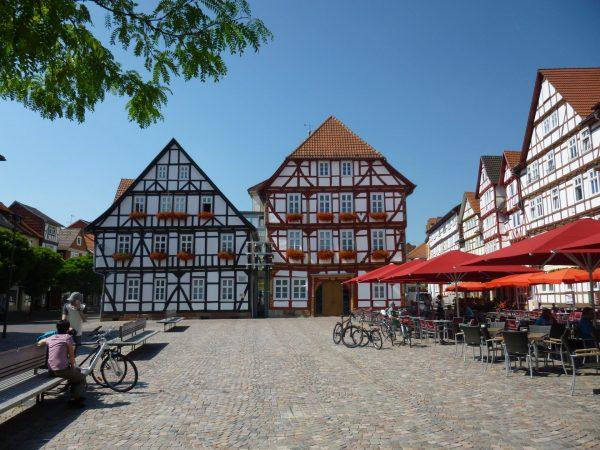 ktplatz Eschwege mit Rädern