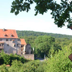 Tanneburg, Werra-Burgen-Steig Hessen