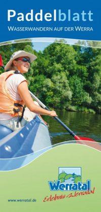 Flyer Wasserwandern Paddelblatt