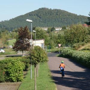 Blick auf den Krayenberg von Dorndorf