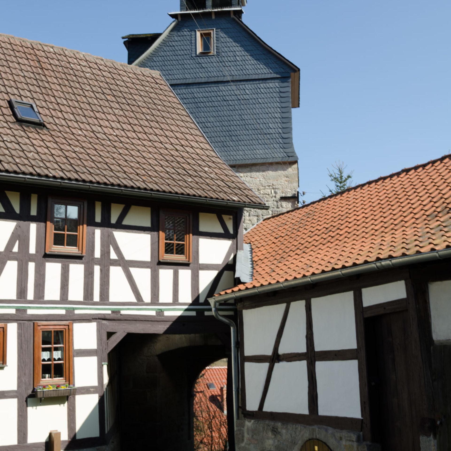 Leutersdorf, Kirchenburg