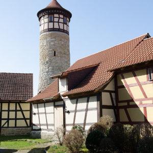 Hutturm in Vachdorf