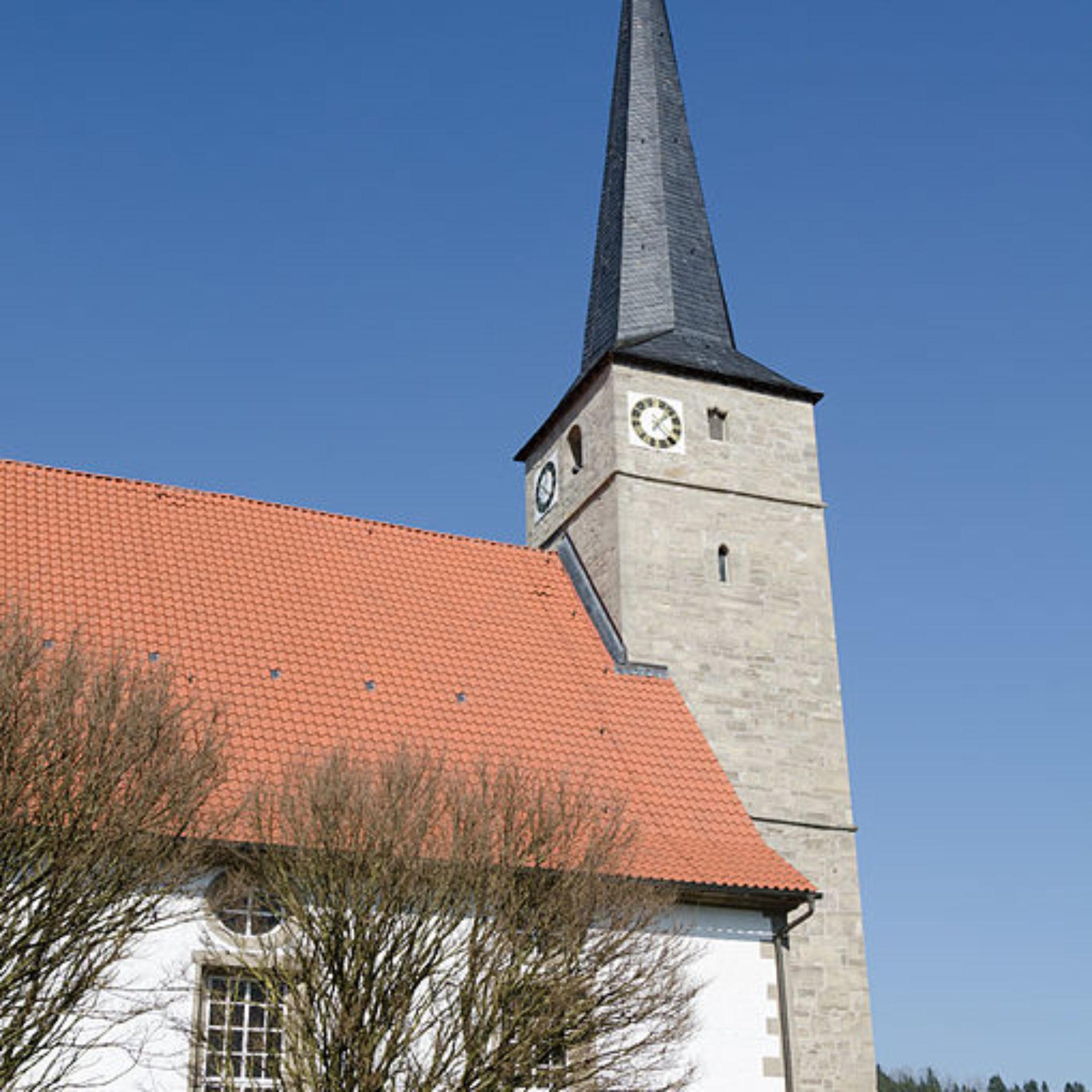 St. Trinitatis Kirche Vachdorf