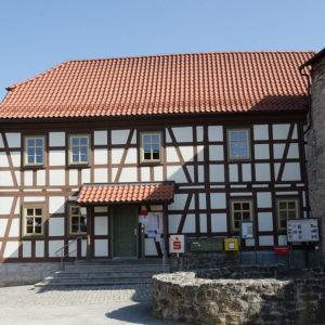 Bürgermeisteramt und Kirchenburganlage Vachdorf