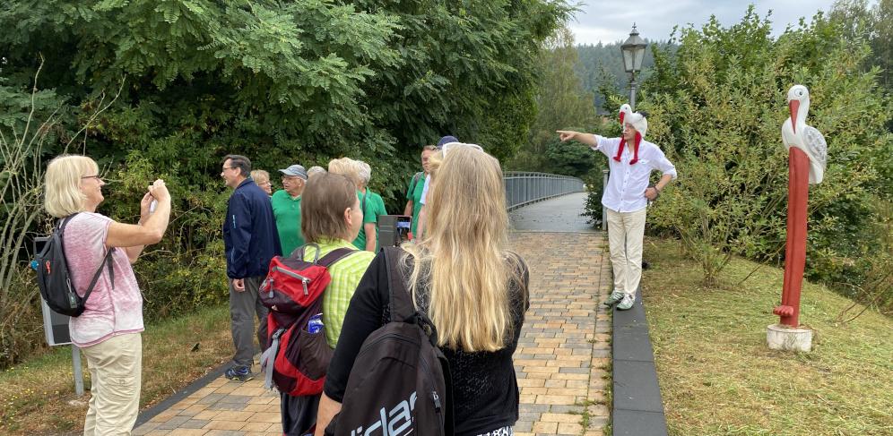 Eröffnung Storchenstieg Bad Salzungen