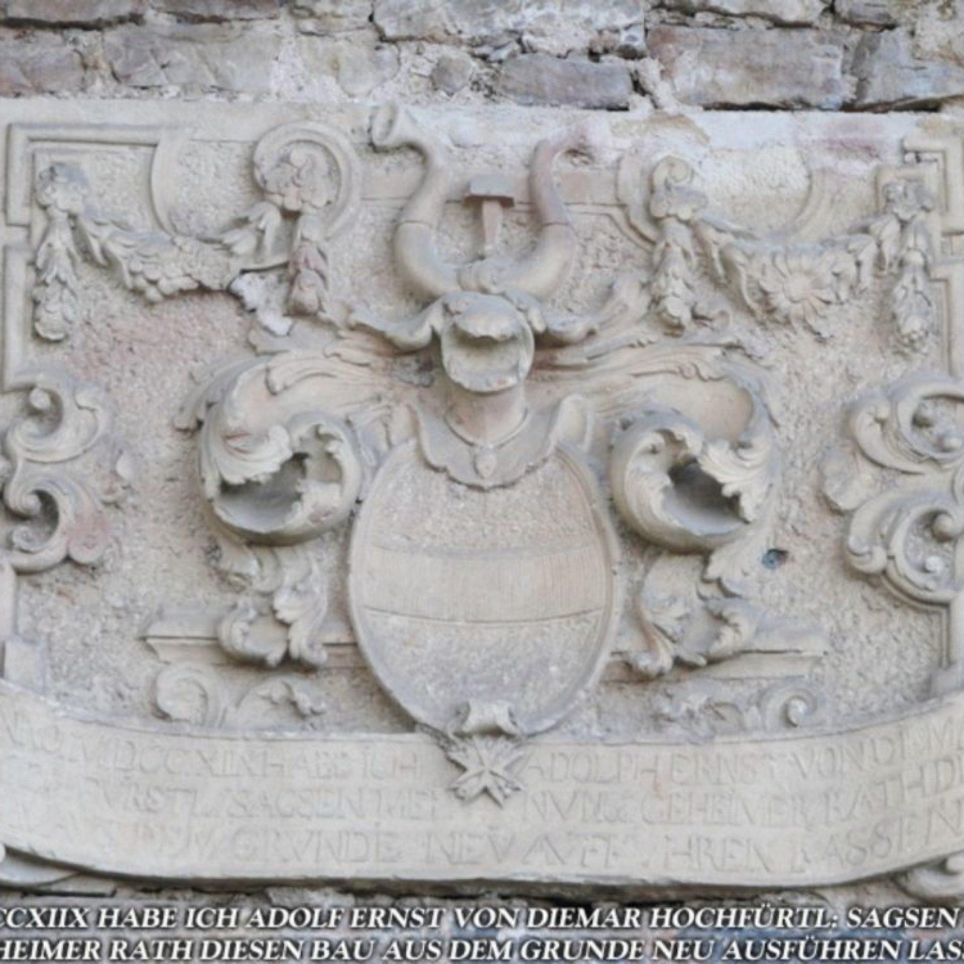 Wappen Diemarstadel Walldorf