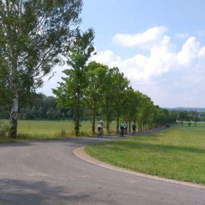 Werratal-Radweg zwischen Gerstungen und Sallmannshausen