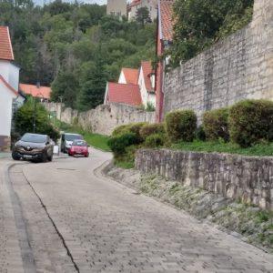 Barrierefreier Weg zur Burg Normannstein, Treffurt