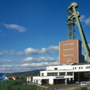Besuchereingang Erlebnisbergwerk Merkers © K+S AG