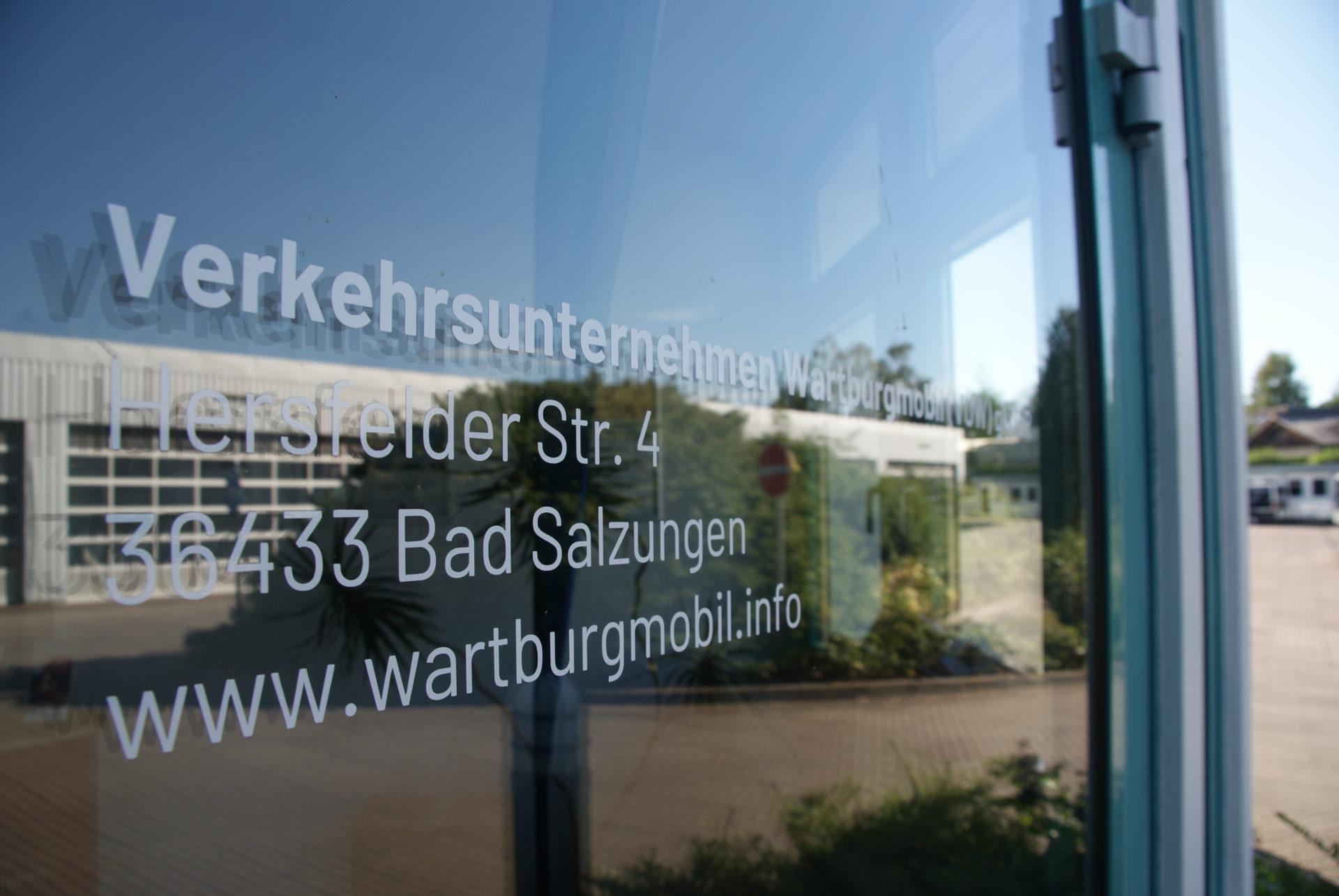 Verwaltungsgebäude der VUW in Bad Salzungen