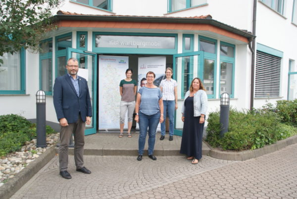Neue Geschäftsstelle der WTT im Gebäude der VUW