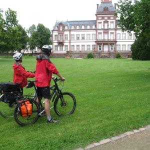 Radfahrer, Bahnradweg Hessen © Region Vogelsberg Touristik