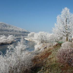 Wahlhausen an der Werra im Winter © Stefan Stadolka
