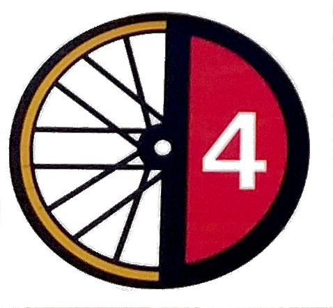 Logo der D4-Radroute