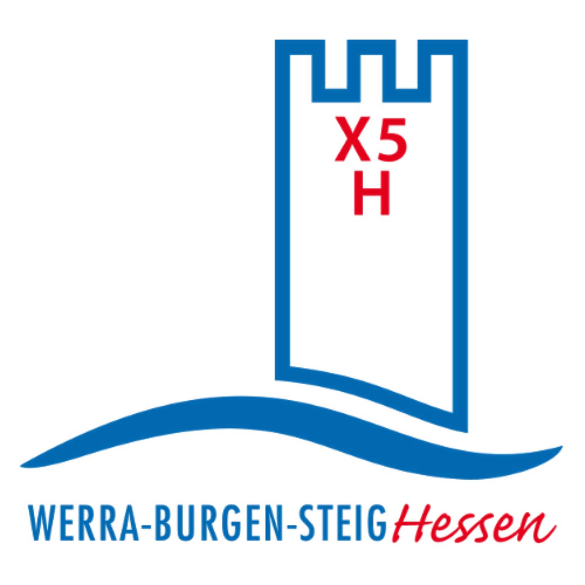 Logo Werra-Burgen-Steig Hessen X5H