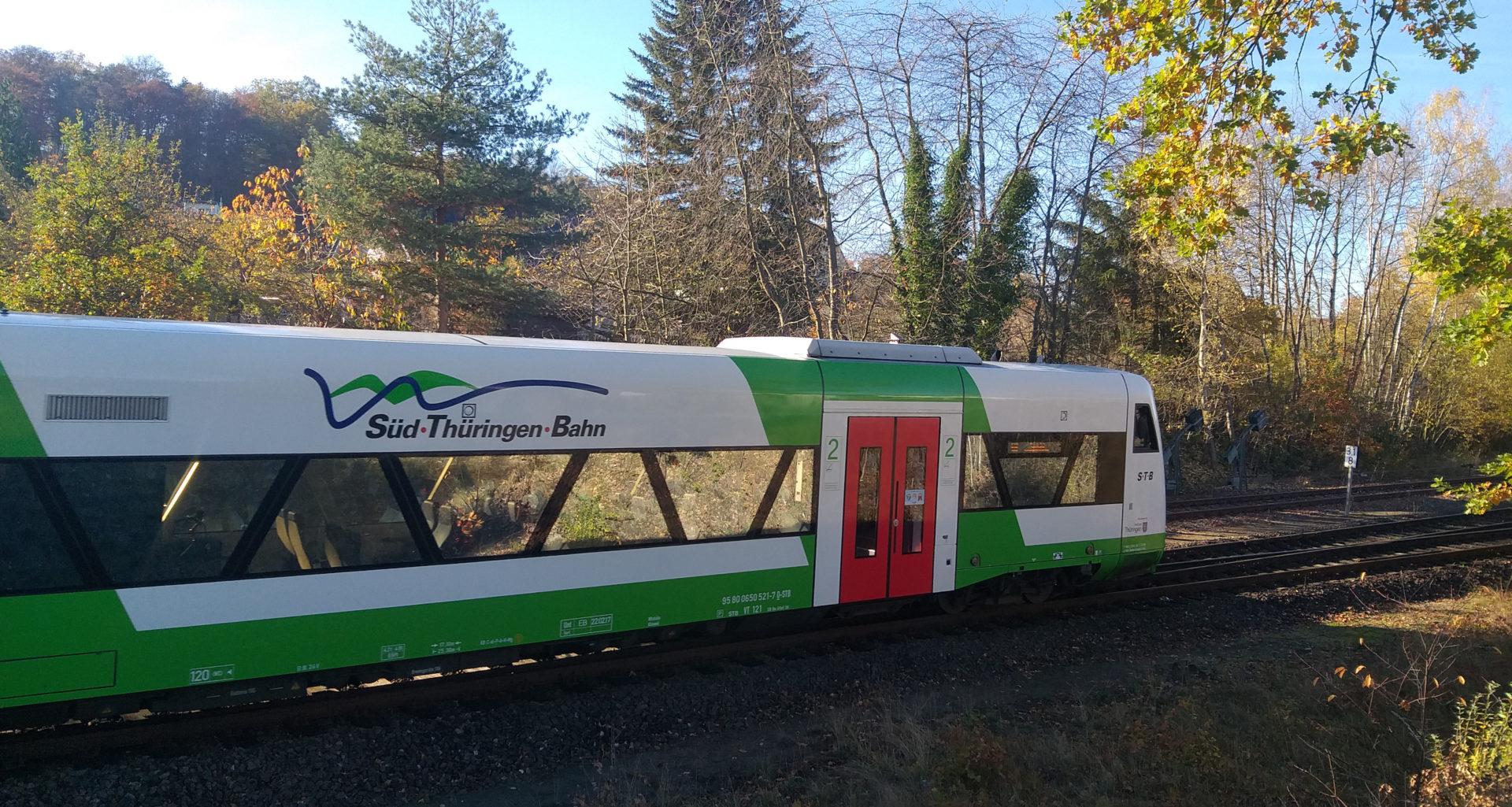 Südthüringenbahn bei Immelborn