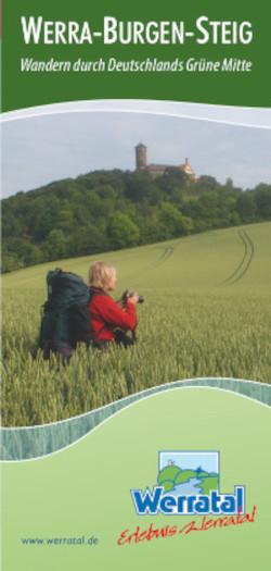 Titelbild Flyer Werra-Burgen-Steig