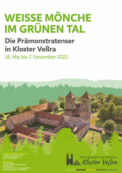 Plakat Kloster Vessra