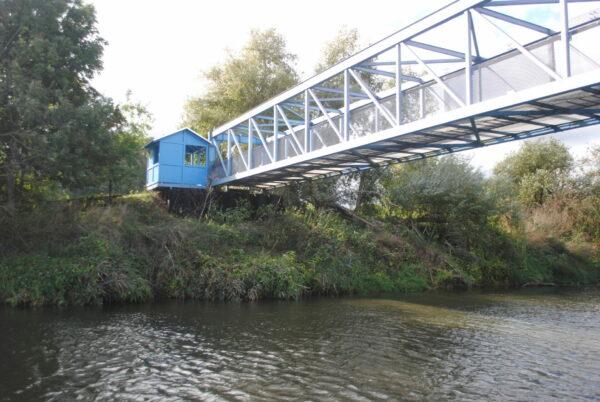 Brücke am ehem. Sperrwerk Göringen © Oliver Brunkow